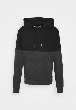 Hoodie - black/grey