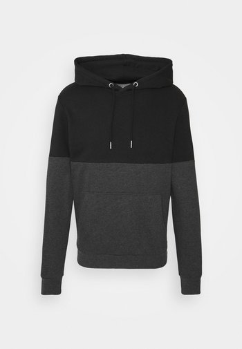 Luvtröja - black/grey