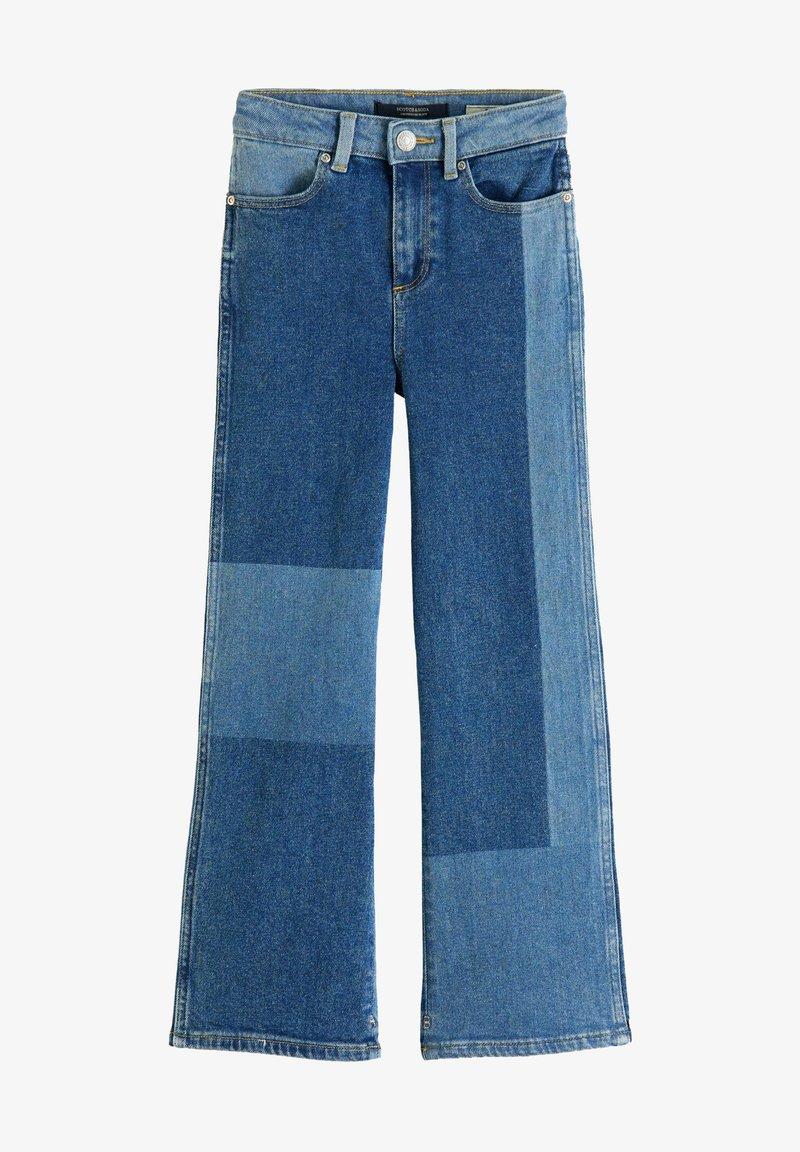 Scotch & Soda - Flared Jeans - mottled blue