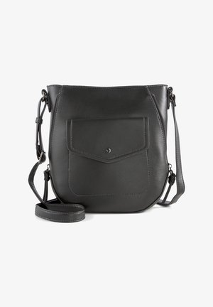 JANITA  - Across body bag - schwarz / black