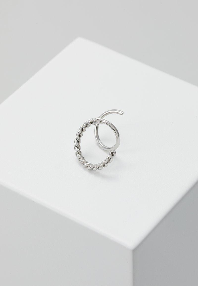 Maria Black - SOFIA TWIRL EARRING - Náušnice - silver