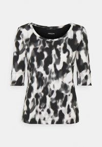 Marc Cain - Print T-shirt - black/white - 5
