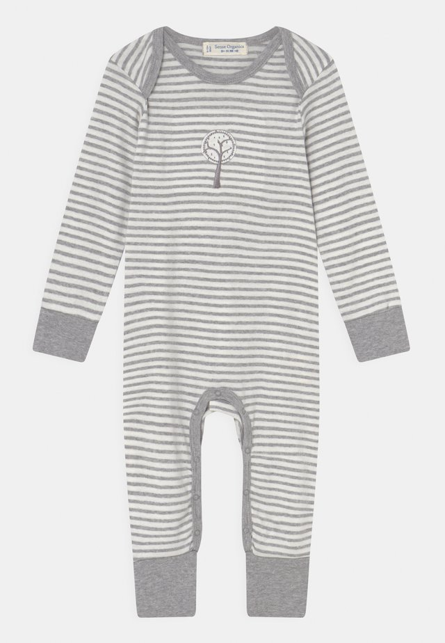 WAYAN BABY ROMPER UNISEX - Pyjamas - grey