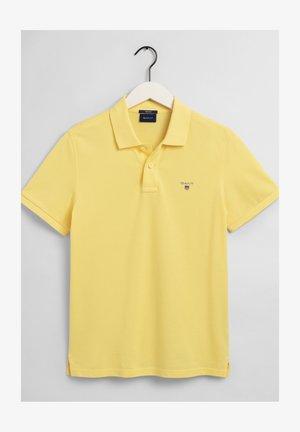 Polo shirt - brimestone yellow