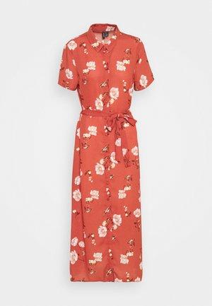 VMMELLIE SINGLET SHORT DRESS - Maxi dress - marsala/mellie
