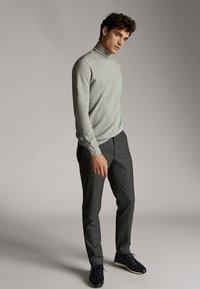Massimo Dutti - Spodnie materiałowe - dark grey - 3