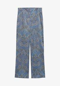 Mango - ESTAMPADO - Trousers - azul - 6