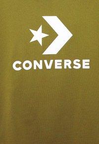 Converse - STAR CHEVRON TEE - Print T-shirt - cypress green - 5