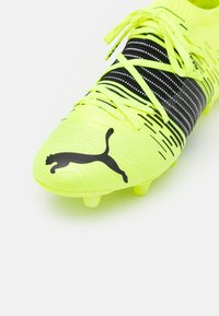 Puma - FUTURE Z 1.1 FG/AG - Moulded stud football boots - yellow aler/black/white - 5