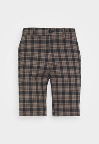 River Island - Shorts - brown/navy - 3