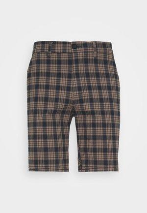 Shorts - brown/navy