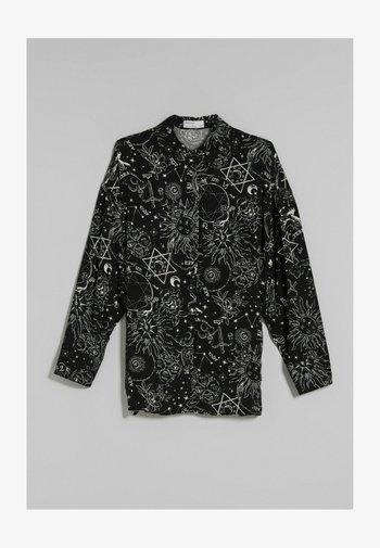 OVERSIZED - Long sleeved top - black