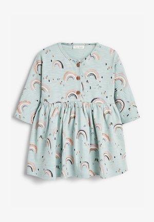 RAINBOW PRINT - Day dress - teal