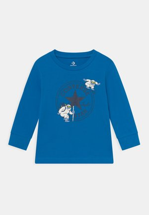 YETI TEE UNISEX - Maglietta a manica lunga - kinetic blue