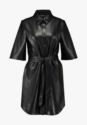 KARLA DRESS - Abito a camicia - black