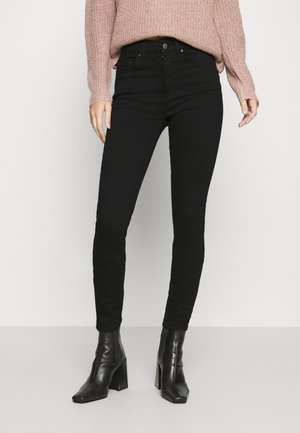 ONLBLUSH HIGH WAIST - Jeans Skinny Fit - black denim