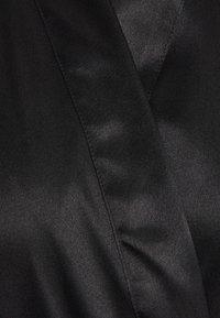 Boux Avenue - DARCIE TRIM ROBE - Dressing gown - black - 2