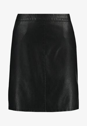NMKELLY SKIRT - Mini skirt - black