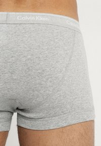 Calvin Klein Underwear - TRUNK 3 PACK - Culotte - black/grey/white - 2