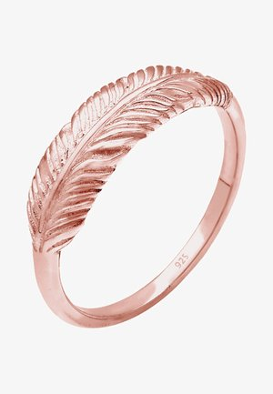 FEATHER - Ring - rose gold-coloured
