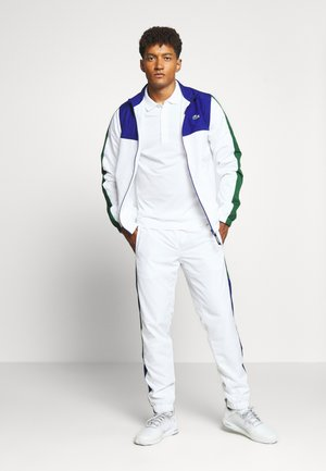 TENNIS TRACKSUIT - Trainingsanzug - cosmic/white/green