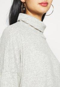 JDY - JDYSARA TONSY NECK DRESS - Jumper dress - silver birch melange - 5