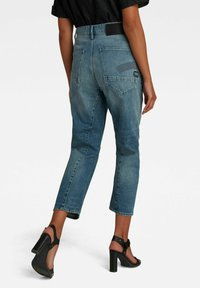 G-Star - BOYFRIEND CROPPED - Straight leg jeans - faded tide - 1