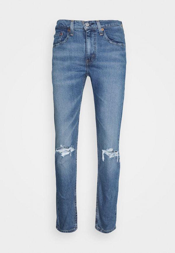 Levi's® 519™ EXT SKINNY HI-BALL B - Jeansy Skinny Fit - blue denim/niebieski denim Odzież Męska CQXR