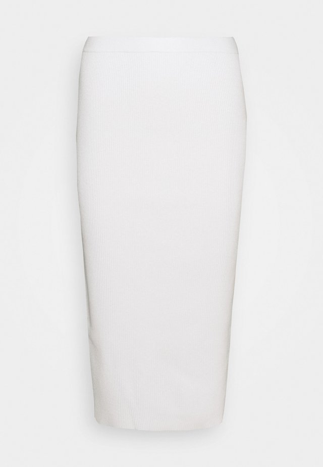 BARBIE SKIRT - Pencil skirt - off-white