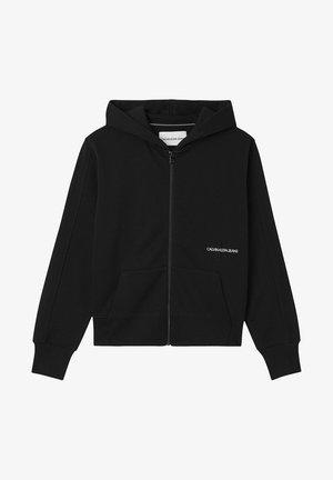 Zip-up sweatshirt - ck black