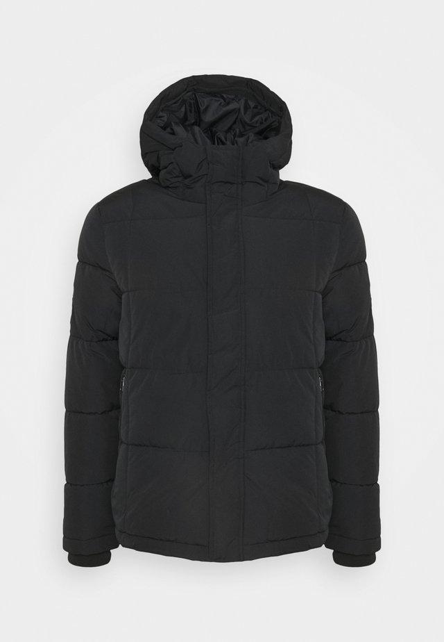 BASIC PUFFER - Winter jacket - black