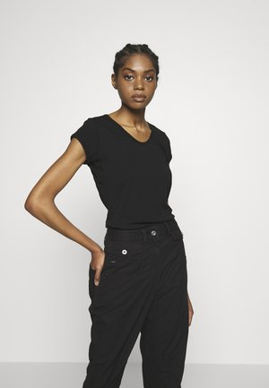 CORE EYBEN SLIM - Basic T-shirt - black