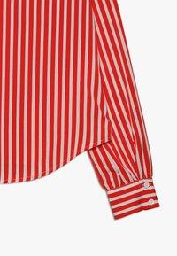 LMTD - NLFKAYA - Button-down blouse - poppy red/white - 2