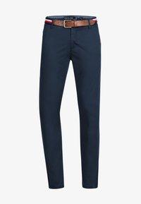 INDICODE JEANS - CHERRY - Pantalones chinos - navy - 3