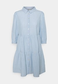 ONLY - ONLAMARYLLIS DRESS - Shirt dress - blue fog/cloud dancer - 0