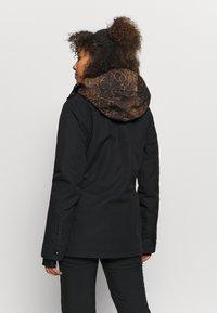 Volcom - KUMA JACKET - Snowboard jacket - black - 2