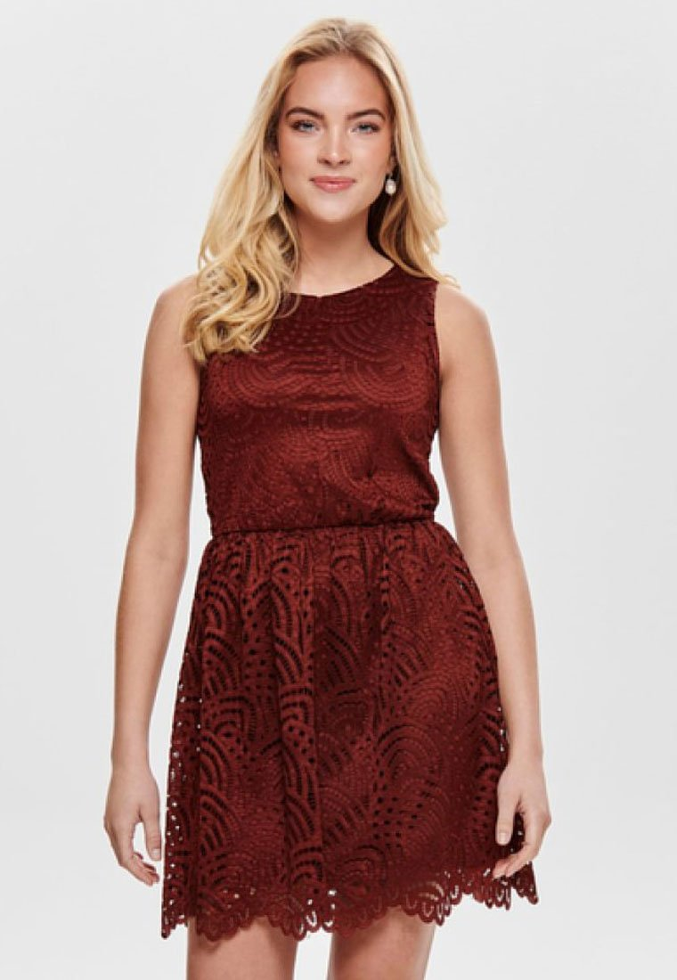 ONLY - ONLEDITH DRESS - Cocktail dress / Party dress - red