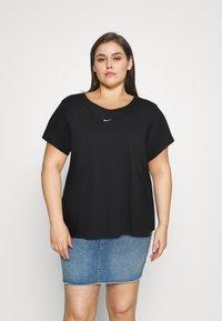 Nike Sportswear - TEE PLUS - Basic T-shirt - black - 0