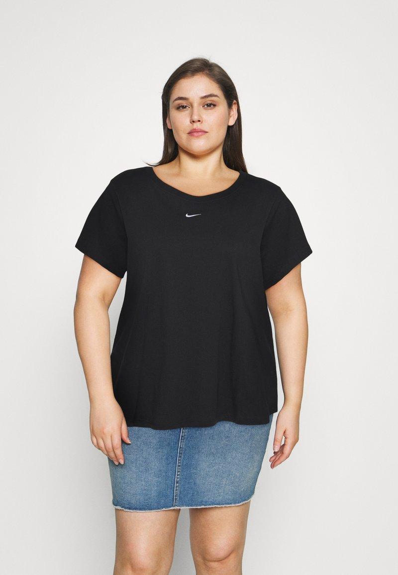 Nike Sportswear - TEE PLUS - Basic T-shirt - black