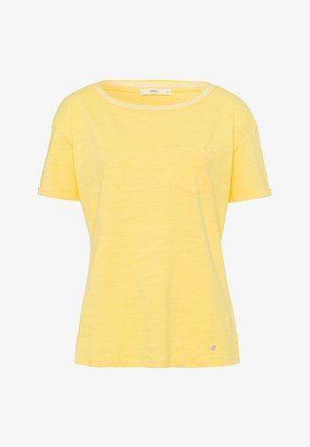 STYLE CAMILLE - Basic T-shirt - sun yellow