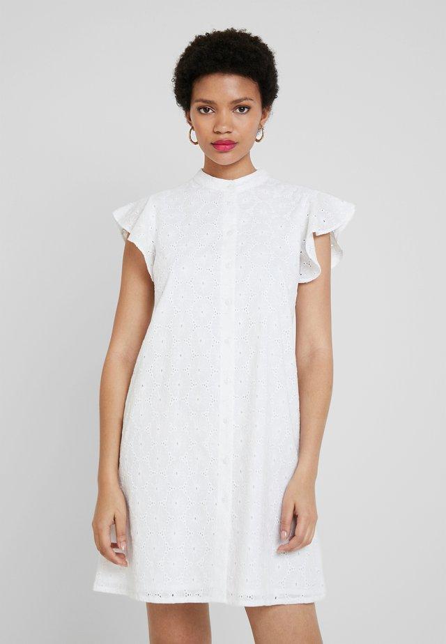 SCHIFFLY - Sukienka koszulowa - white