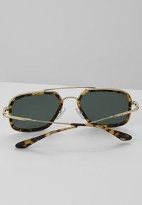 Prada - Sunglasses - brown/pale gold-coloured - 4