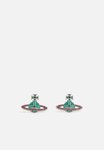 KIKA EARRINGS - Earrings - emerald blue