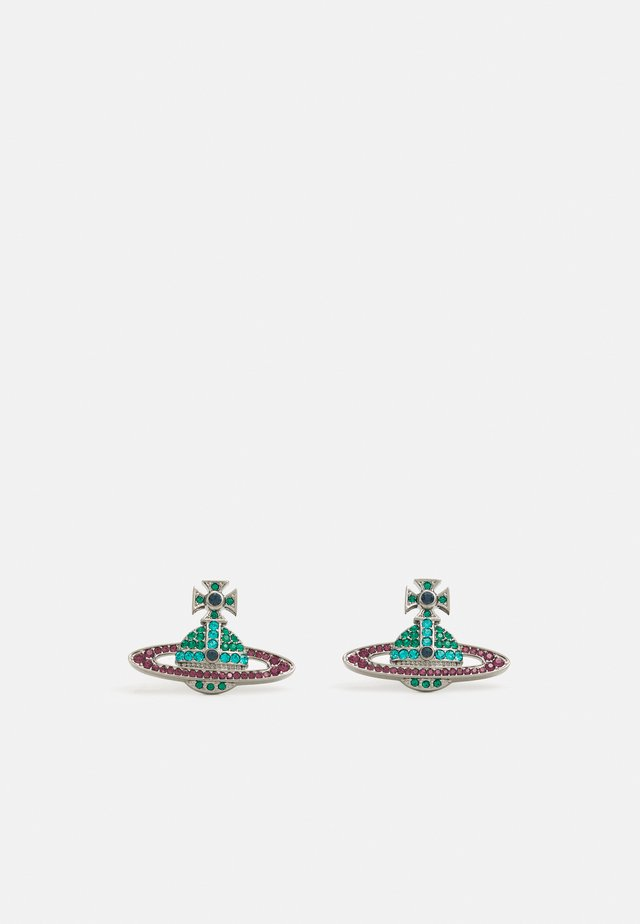 KIKA EARRINGS - Korvakorut - emerald blue