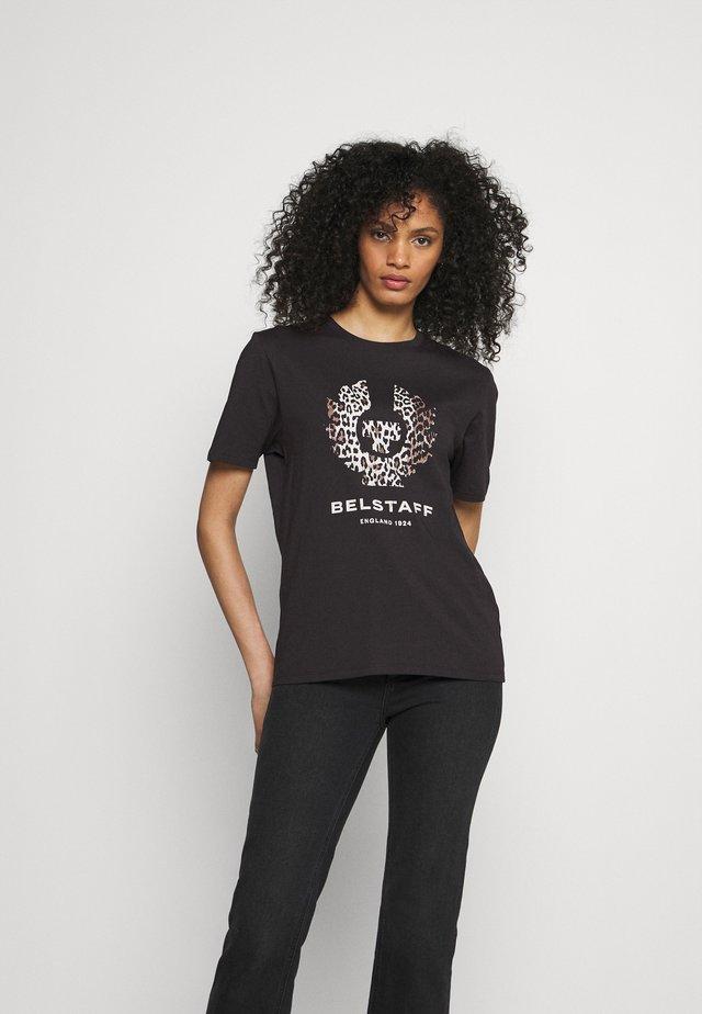 LEOPARD PRINT PHOENIX - T-shirt print - black