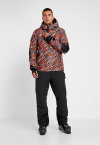 Superdry - Laskettelutakki - orange/grey - 1