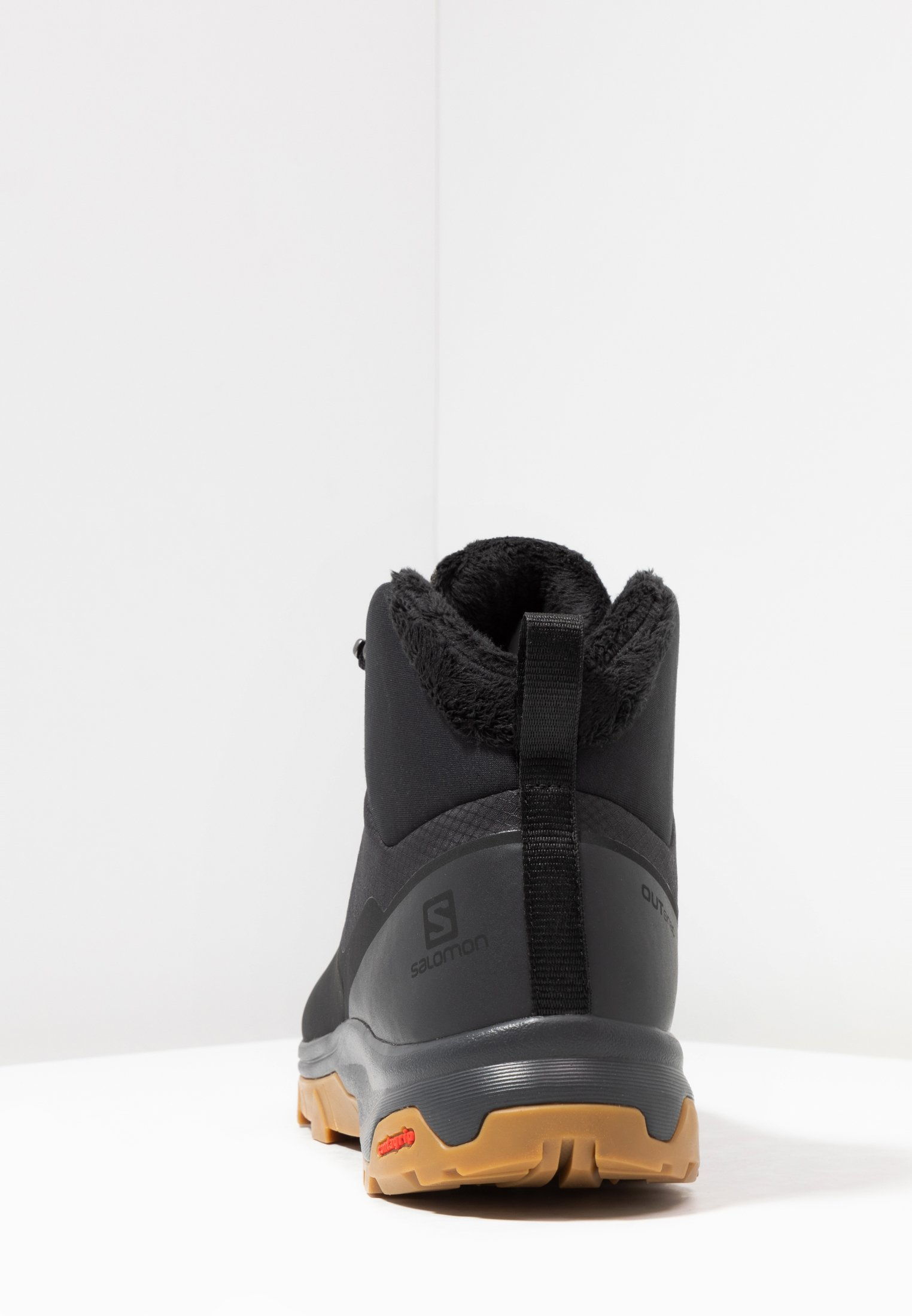 Salomon OUTSNAP CSWP - Vinterstøvler - black/ebony