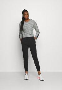 adidas Performance - Sweatshirt - medium grey heather/black - 1