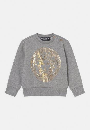 UNISEX - Sweatshirt - grigio melange/oro