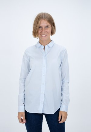 DEVIN - Button-down blouse - hellblau
